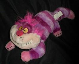 "16"" Disney Store Alice In Wonderland Cheshire Pink Cat Stuffed Animal Plush Toy - $28.05"