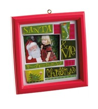Carlton Cards Heirloom My Family Picture Frame Christmas Ornament - $16.08