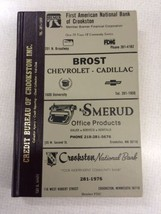 1986 Crookston MN minnesota Polk's City Directory R.L. Polk & Co Genealo... - $49.99