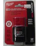 Milwaukee 48-11-2401 M12 RED LITHIUM 12Volt Lithium Ion Cordless Tool Ba... - $29.70