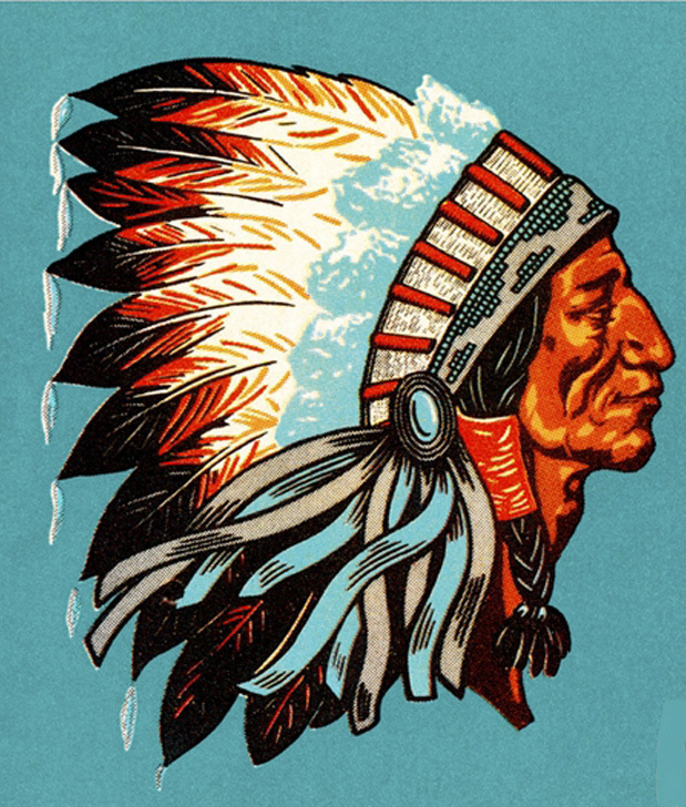 Primary image for American Indian Chief Cross Stitch Pattern***LOOK*** ***DOWNLOAD***