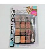 L.a. Colors Expressions - 12 Color Eyeshadow Traditional New - $12.99