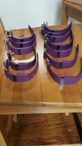 Fitbit Fit Bit Charge HR Plum small and large  (lot of 12) activity tracker - $148.50