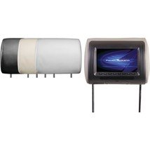 Power Acoustik H-71CC Universal Headrest Monitor with IR Transmitter and... - £81.47 GBP