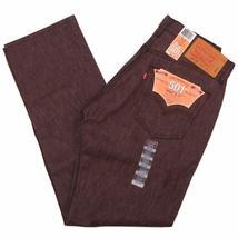 Levi's 501 Men's Original Fit Straight Leg Jeans Button Fly 501-1406 image 3