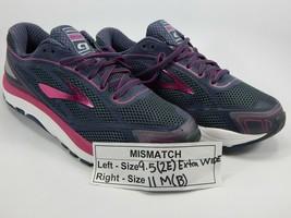 Mismatch Brooks Dyad 9 Größe 9.5 2e Extra Breit & 11 M (B) Recht Damen Schuhe