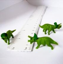 Doll House Shoppe 3 Toy Triceratops Figures 11758T Dinosaur Micro-Mini Miniature - $3.49