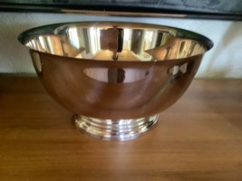 Vintage Towle Silverplated Large  fruit Bowl new silver plated - $29.99