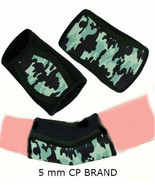 BLACK GREEN MILITARY STYLE NEOPRENE ELBOW SLEEVES CAP PROTECTOR (5 mm) C... - $23.27+