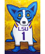 George Rodriguez Art oil painting printed on canvas home decor Dogs - $14.99+