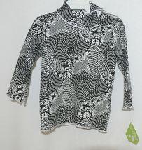 Snopea 3 Piece Outfit Vest Shirt Pants Black White Velour Size 9 Months image 3