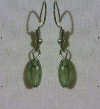 Natural Stone Drop Earrings - $5.00