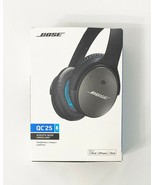 Bose QC 25 Quiet Comfort Acoustic Cancelling Headphones, Wired, Black - $103.94