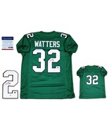 Ricky Watters Autographed SIGNED Custom Jersey - PSA/DNA Authentic - Green - $108.89