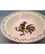 Vintage Metlox Poppytrail Rooster Vegetable / Serving Bowl California - $18.57