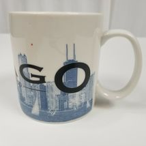 Starbucks Chicago Skyline Series Mug Coffee Cup Tea Large Windy City Barista image 7