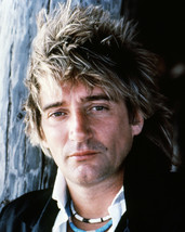 Rod Stewart Spiky Hair Close Up Portrait Circa Late 1970's 16x20 Canvas ... - $69.99