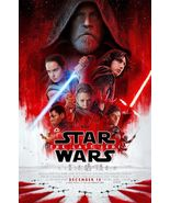 "Star Wars-The Last Jedi (11"" x 17"") Movie Collector's Poster Print - $21.00"