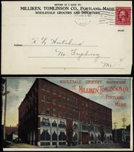 Milliken, Tomlinson Wholesale Grocers 1910 Advertising Cover - Stuart Katz - $80.00