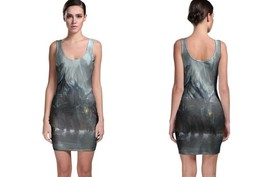 Bodycon Dress Roshan Dire Jungle - $22.99+