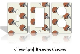 Cleveland Browns Light Switch Covers Football NFL Home Decor Outlet - $8.90+