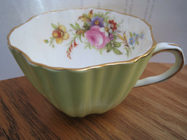 EB Foley Bone China Teacup ONLY - No Saucer - Pale Yellow with flowers i... - $8.00