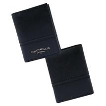 Levi's Men's RFID Blocking Trifold Credit Card ID Logo Black Wallet 31LV110046 image 2