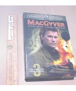 MacGyver Season 3 DVD TV Series 5 Disc Box Set TESTED Richard Dean Anderson VGC - $5.99