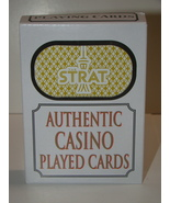 THE STRAT - AUTHENTIC CASINO PLAYED CARDS - $10.00