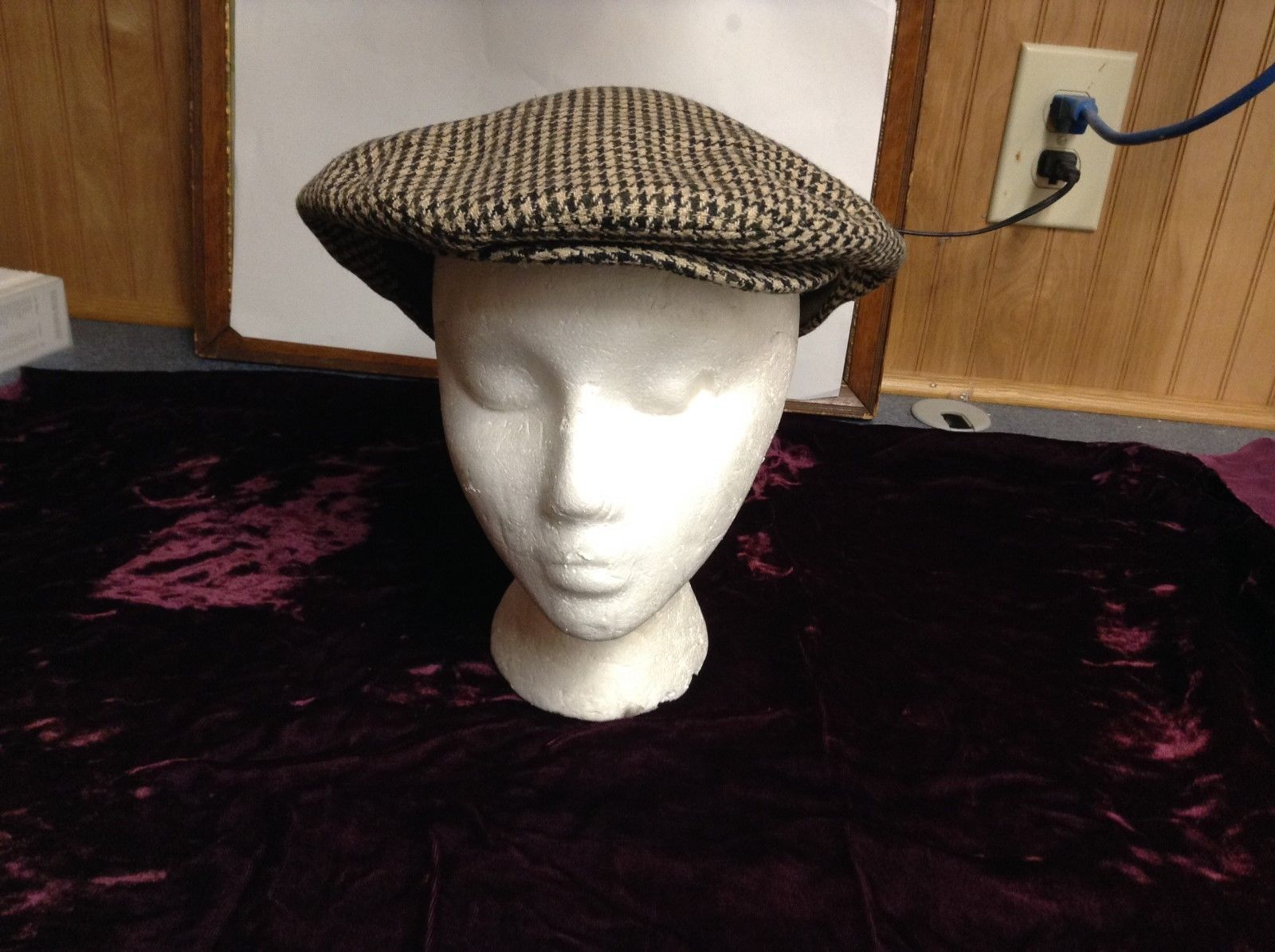 Country Gentleman Very Clean Wool-Blend Cap Sz XL