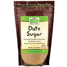 Date Sugar, 1 lb by Now Foods - $7.40