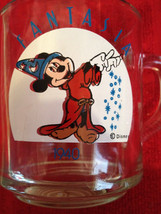 Coffee Fantasia Cup Disney Mickey Mug Mouse Sorcerer Anchor Hocking Apprentice W - $25.00