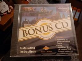 Transparent Bonus CD Language Software Installation Instructions CD ROM - $6.92