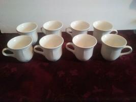 MIKASA French Countryside F9000 Set of 8 Coffee Cups Mugs  - $74.79