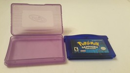 Nintendo Game Boy Advance Pokemon Saphire Loose Cartridge Dead Battery F... - $23.75