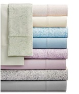 $120.00 Sunham Bari 4-Pc. Solid Sheet Set, 350TC Cotton Blend, CA King, ... - $39.85