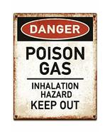 sy'decorative Danger Poison Gas Keep Out Warning Sign Mural inch Poster ... - $51.44