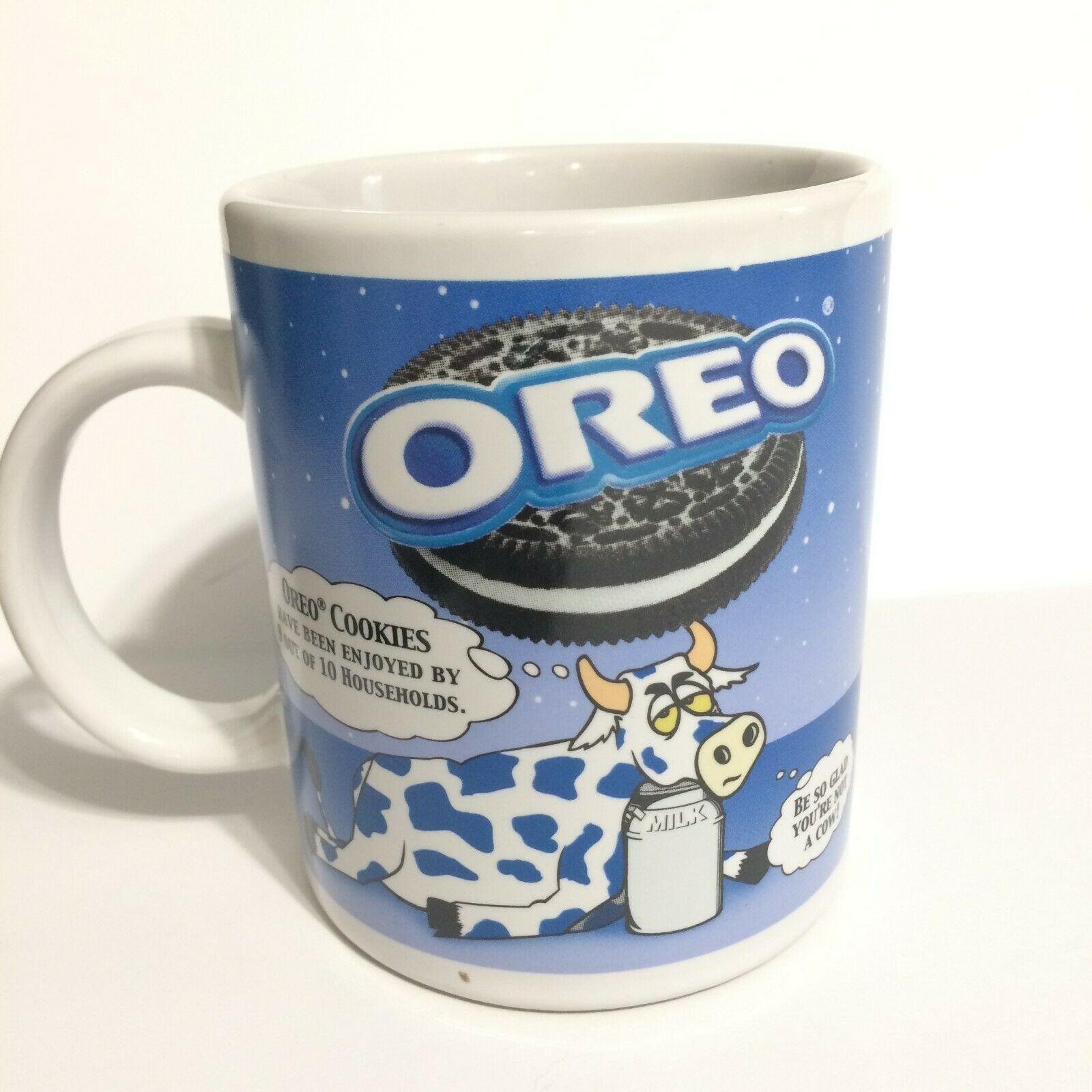 Oreo Cookie Mug Nabisco Houston Harvest Blue And 12 Similar Items
