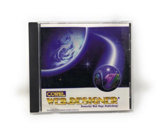 Corel Web Designer - Powerful Web Page Publishing [PC, 1996] - $9.95