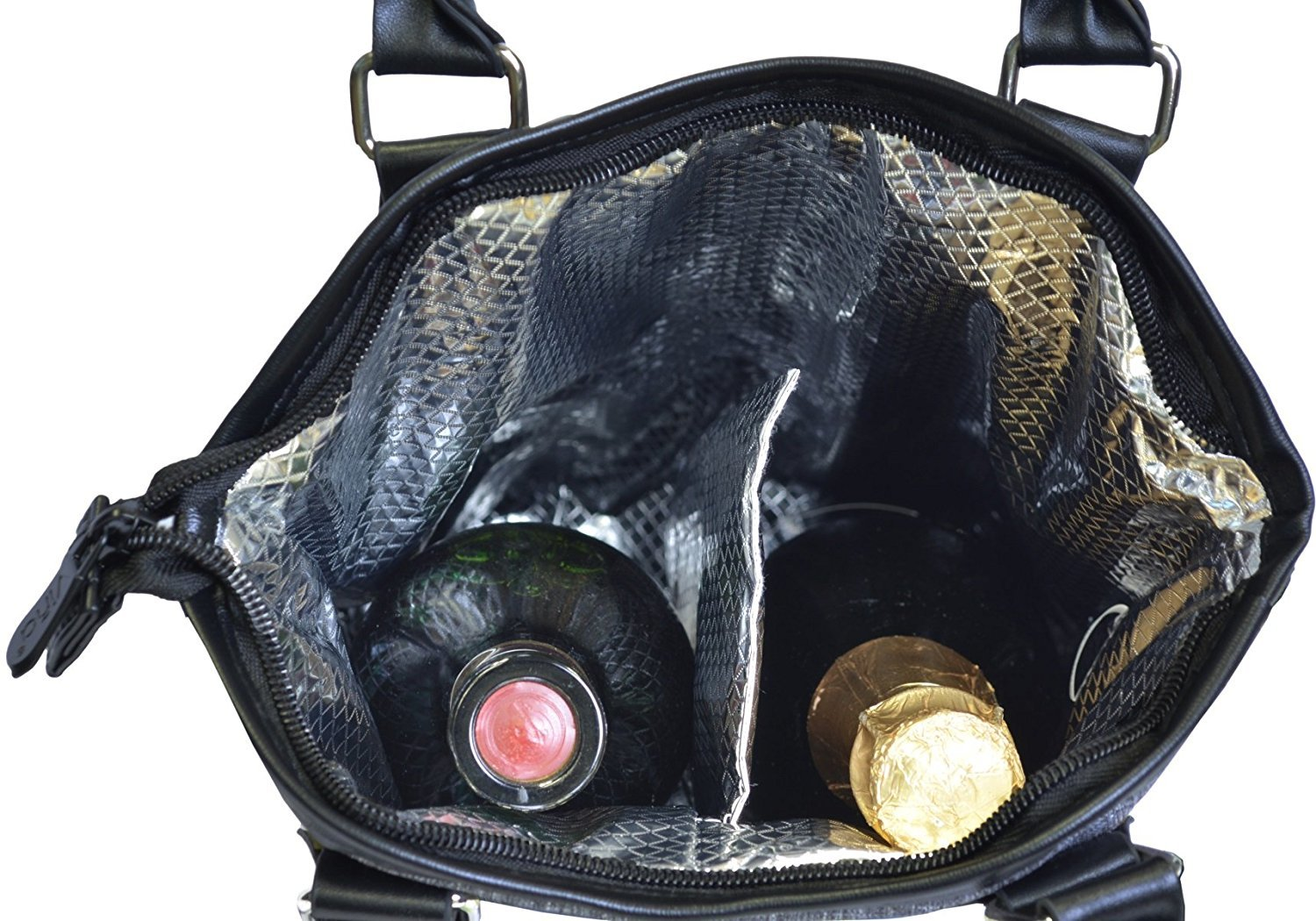 2d00caee164d Vina 2 Bottle Wine Tote Bag - Thermal and 49 similar items