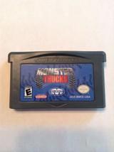 Monster Truck Game Boy Advance Majesco GBA Nintendo - CARTRIDGE ONLY - $5.99