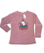 Mr. Wonderful Nada Impossible Pink Unicorn T-Shirt No Hay Cotton Blend X... - $12.16