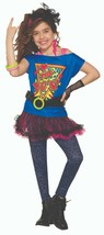 Forum Novelties Totally 80s Awesome TuTu Retro Childrens Halloween Costu... - $33.99