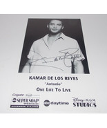 Kamar de los Reyes Autograph Reprint Photo 9x6 One Life Live 2003 Sleepy... - $9.99