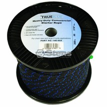 146-955 Stens 200' True Blue Starter Rope #6 Solid Braid NHC 269-0955 - $39.99
