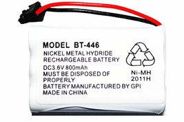 Uniden BT-446 BT446 BT-1004 BT-1005 BT-504 Rechargeable Cordless Phone Battery - $6.92