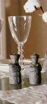 Lladro 01012492 Salt & Pepper Shakers Black Porcelain Gres New - $158.40