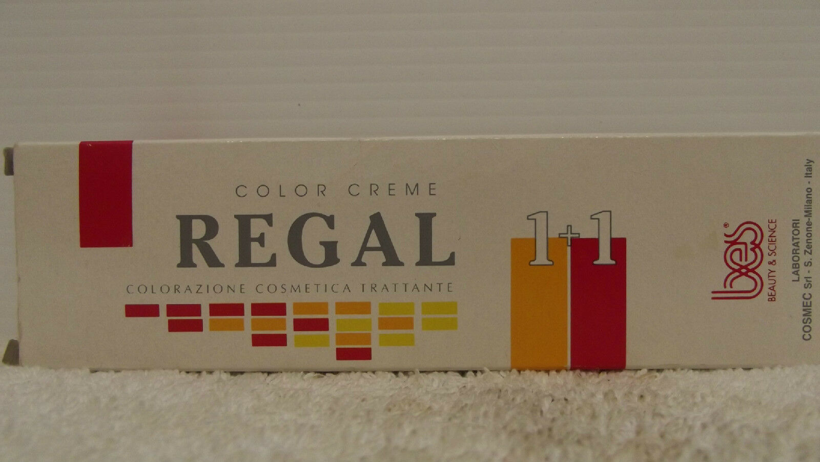 Primary image for (Original) BES REGAL 1+1 Professional Permanent Hair Color Cream 2.1 oz~U Pick!!