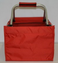 WB Brand MarketRed Large Collapsible Red Market Tote image 2