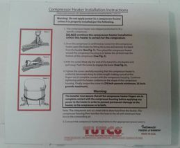 Tutco CH150-7 Compressor Heater for A/C and Refrigeration 460V 65W FREE SHIPPING image 3